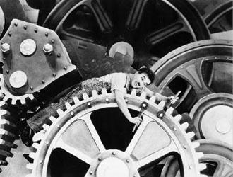 0c67f44e323 Os Tempos Modernos de Chaplin  trabalho e alienação na Revolução ...