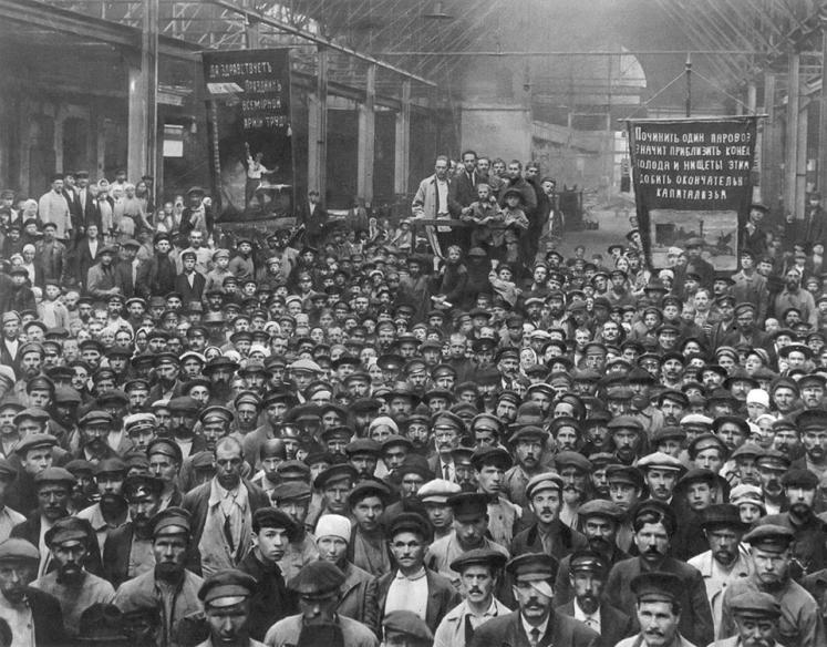 Os ventos do leste movem moinhos: o impulso revolucionário de 1917 na criação do PCB